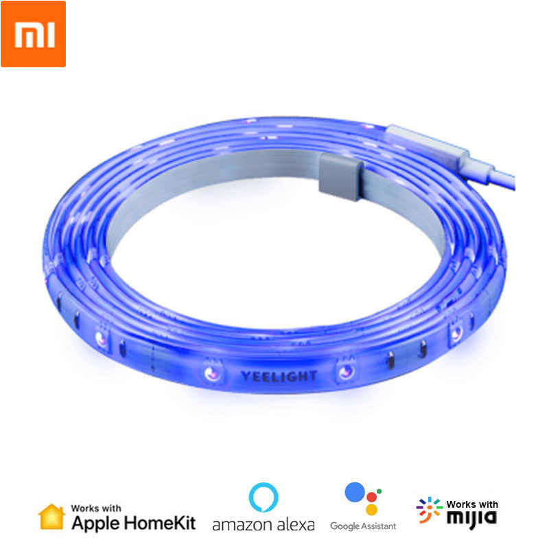 Xiaomi Yeelight Licht Strip Plus Smart LED Licht Band Extension Versie Afstandsbediening Werk met HomeKit MIJIA Smart Home APP