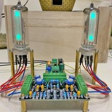 DC12V A Doppio Canale A Bassa Tensione 6E2 Tubo indicatore di Bordo di driver indicatore del livello di amplificatore Audio FAI DA TE fluorescente