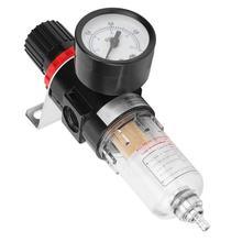 Масло вода регулятор 1/4in AFR2000 водомасляный сепаратор Compressed воздушный фильтр обработки исходных текстов с Давление датчик