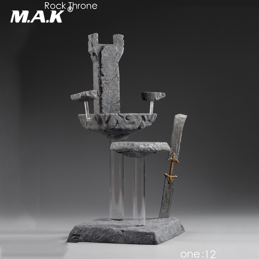 """1//6 Scale Candle Holders Model for 12/"""" Action Figure Scene Accessories"""