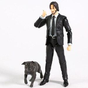 Image 2 - MAFEX 085 John Wick Capitolo 2 Keanu Reeves PVC Action Figure Da Collezione Model Toy