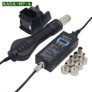 Image 4 - KADA 887 8858 портативный цифровой термопистолет BGA, паяльная станция, воздуходувка горячего воздуха, пистолет для демонтажа, инструменты для ремонта
