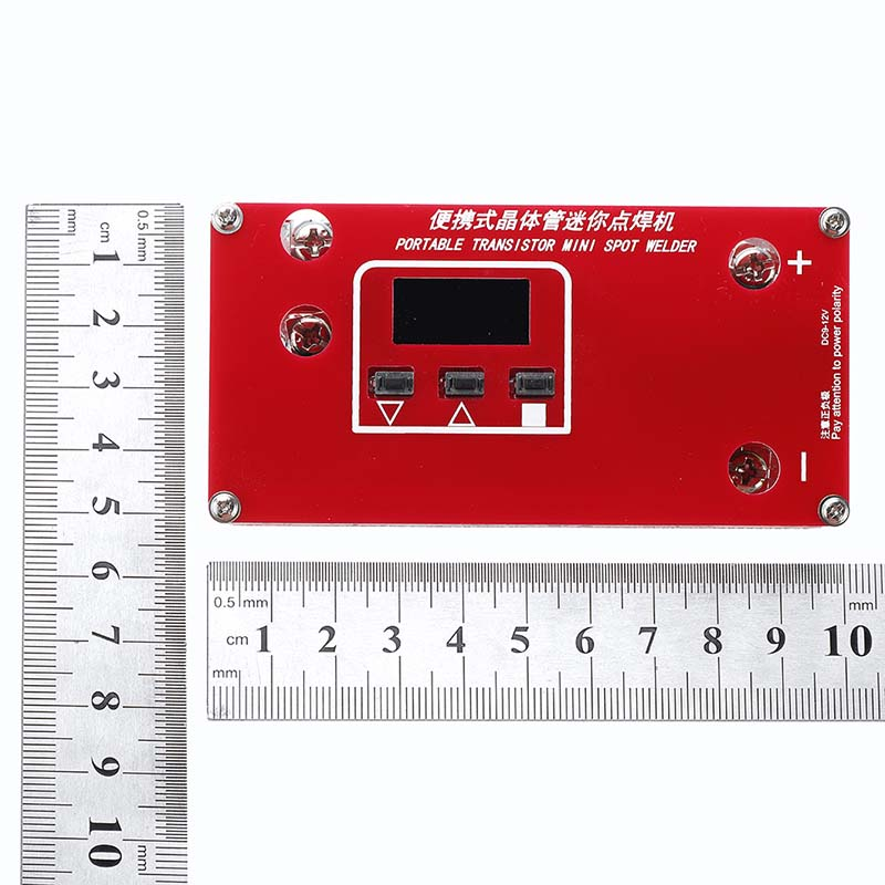 Tools : DANIU Portable DIY Mini Spot Welders Machine with LCD Display Automatic Touch Welding Mode for 18650 Battery Super Capcitor