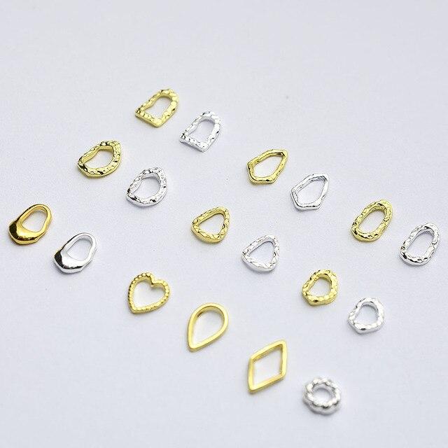 Купить 50 шт/лот золотистые/серебристые полые 3d рамки в форме сердца картинки цена