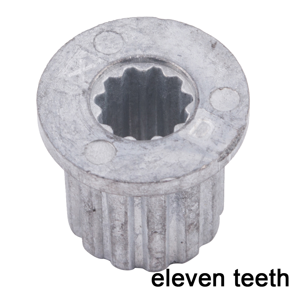 General Washing Machine Pulsator Core Center 11 Teeth Gear Leaf Water Metal Axis Spare Parts Washing Machine Repair