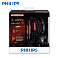 Original Philips SHG7210 Professional Game Headphones with Microphone Wire Control Headphone for Xiaomi Official Verification