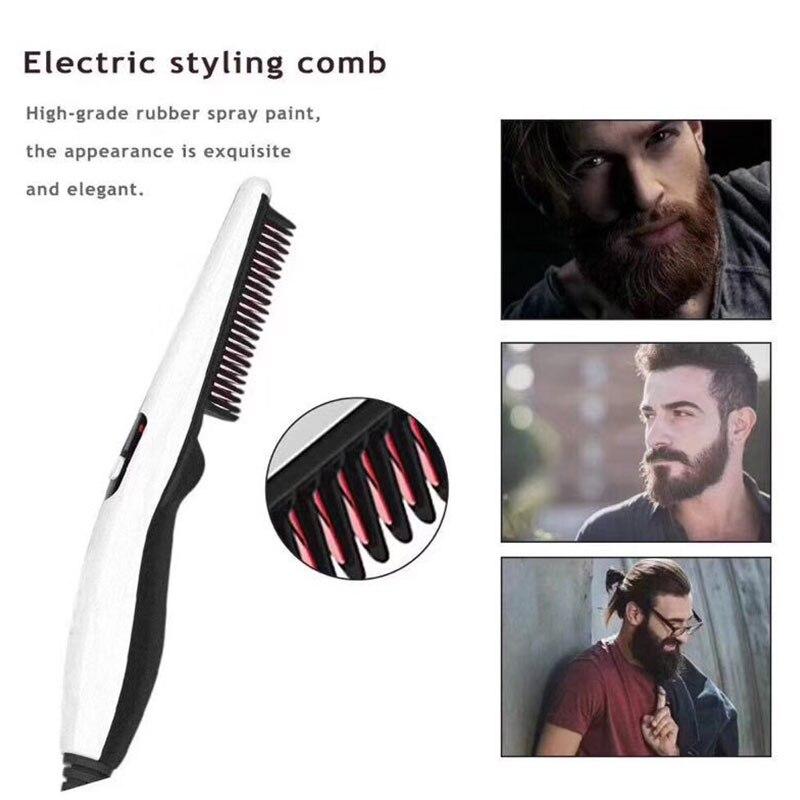 alisamento pente modelador de cabelo rápido modelador de cabelo para homem sk1
