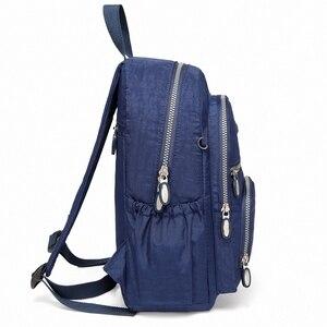Image 4 - 女性軽量小型バックパックデイパック耐久性のある防水旅行ハイキングバッグ女性や少女のため