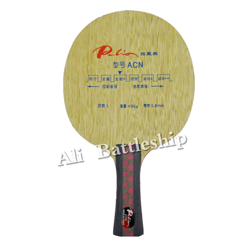 Original Palio ACN Table Tennis Blade All Round Rackets Racquet Sports Indoor Sports Fast Attack Loop