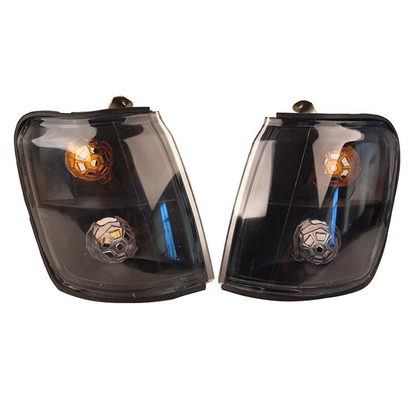Автомобиль изменение курил черный сигнал поворота угловой светильник указателя поворота светильник для Mitsubishi PAJERO V31 V32 1992 1993 1994 1995 1996