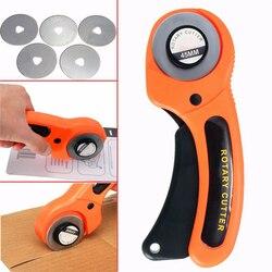 45mm nóż obrotowy narzędzie do cięcia skóry tkaniny nóż ostrze tarczowe DIY Patchwork szycia pikowania Fit Olfa Cut