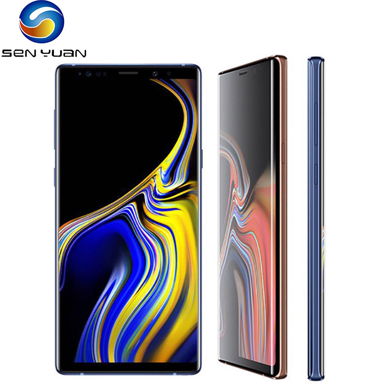 Оригинал, Samsung Galaxy Note 9 N960U мобильный телефон 128 ГБ/512 ГБ NOTE9 N960F разблокирована Snapdragon 845 OctaCore отремонтированный сотовый телефон