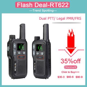 Retevis RB618 Mini Walkie Talkie akumulator walkie-talkie 1 lub 2 szt PTT PMR446 daleki zasięg przenośne dwukierunkowe Radio do polowania tanie i dobre opinie 1000 CN (pochodzenie) 1 5 km-3 km 0 5 w-3 w PMR RB618 OR FRS RB18 PMR 446 OR FRS 462+467 MHz 148*58* 26mm (5 8*2 2*1inch)