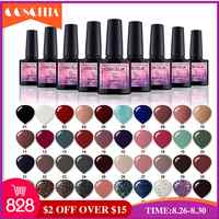 COSCELIA Nail Polish Set 40Colors/Set UV Gel Soak Off Nail Kit For Manicure Pedicure Gel Polish Set Gel Varnishes For Nail Art