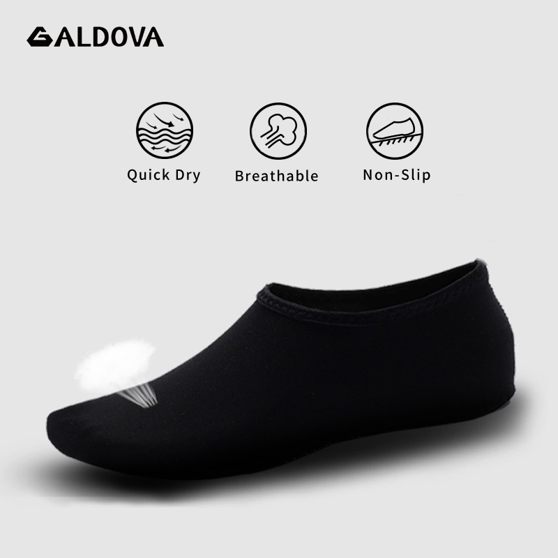 ALDOVA Beach Shoes Non-Slip Breathable Barefoot Summer Water Aqua Swimming Sea Skin Socks Slippers For Woman Men Zapatos Hombre