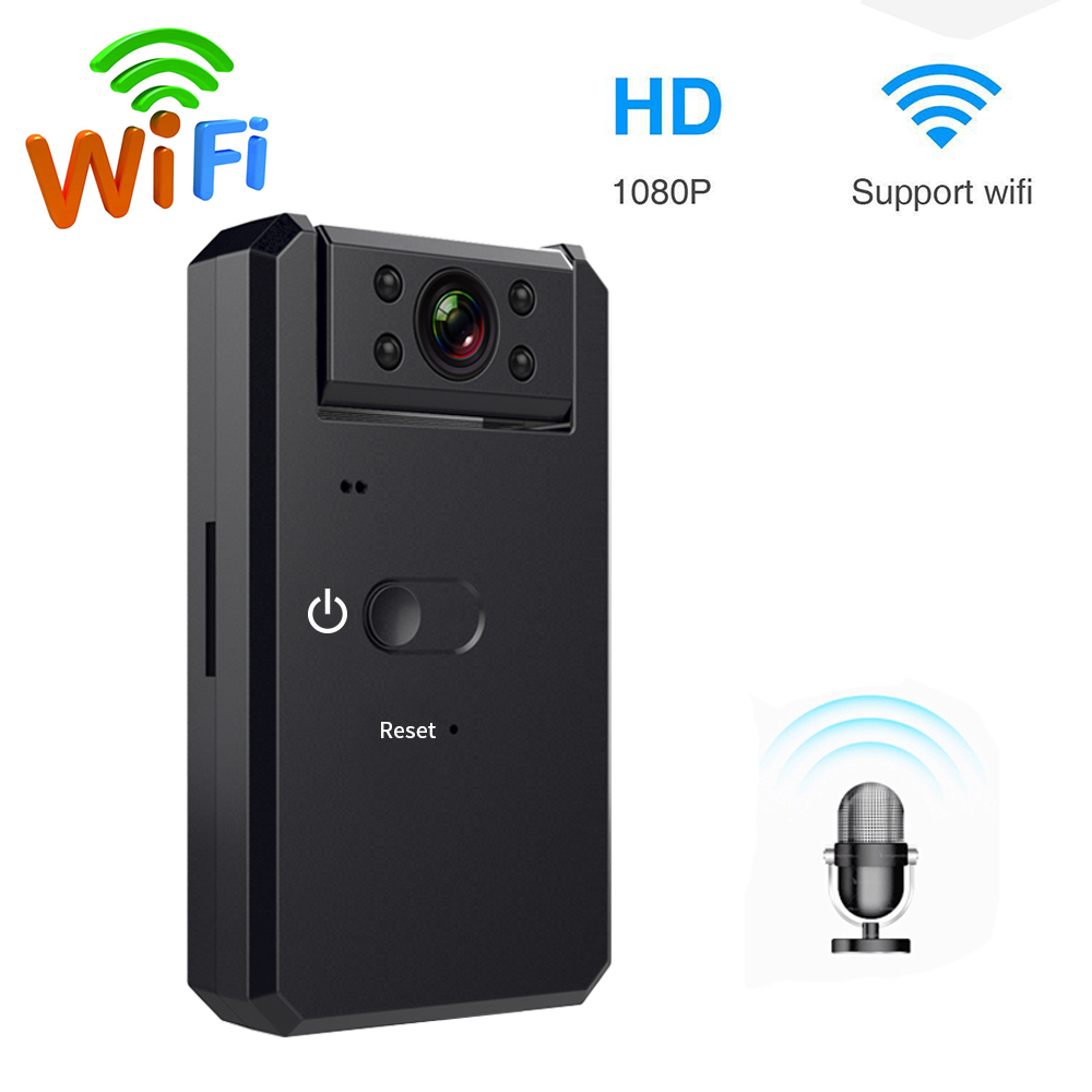 Mini 1080P HD Camera Wireless WiFi Nanny Cam CCTV Micro spy Gadget Bluetooth Remote Control Camera Night Vision Waterproof IP 4K image