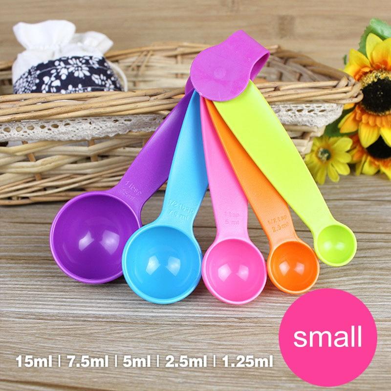 5pc Multicolor spoon