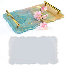 Silicone molds for coaster epoxy resin diy tea tray crystal