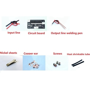 Image 5 - ספוט מכונת ריתוך אביזרי ריתוך עט מלא סט של אביזרי DIY נייד 12V סוללה אחסון אנרגיה ספוט ריתוך machin