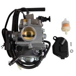 Zbiornik paliwa do motocykla gaźnik do hondy Foreman Rubicon 500 TRX500FA umowy o partnerstwie w sprawie połowów TRX500FGA 2005 2017 w Gaźniki od Samochody i motocykle na