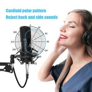 Image 2 - Maono microfone condensador profissional podcast studio microfone de áudio 3.5mm computador mic para youtube karaoke gravação jogos