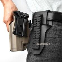 Охотничья кобура для пистолета лопатка тактическая кобура для пистолета для пейнтбола 13-скоростная регулируемая платформа для ремня