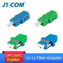 LC APC Simplex SingleMode FTTH fiber adapter  LC UPC SM optical fiber optic connector  Multimode dupex fibra optica coupler