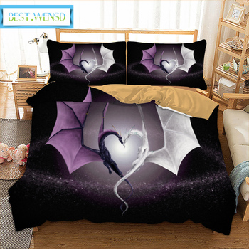 BEST.WENSD Winter comforter bedding sets Twin Full Quee king size bedding set Bed Set Duvet cover pillow case Home bed bedlinen