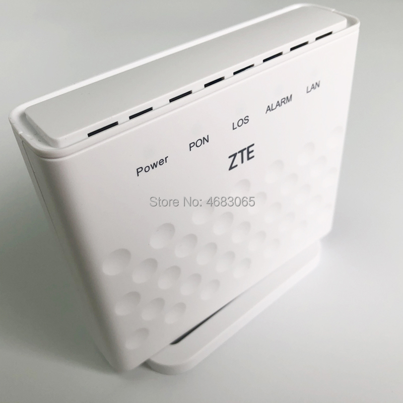 10Pcs/Box ZTE GPON ONT F601 ONU 1GE Port Fiber Optic Modem Compatible With ZTE OLT Optical Line Terminal Free Shipping