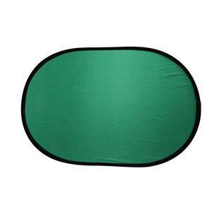 Image 1 - 100*150CM Oval Collapsible Portable Reflector Blue and Green Screen Chromakey Photo Studio Light Reflector For Photography