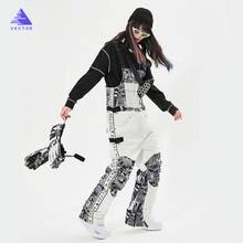 Толстые мужские и женские лыжные штаны прямые комбинезоны комбинезон