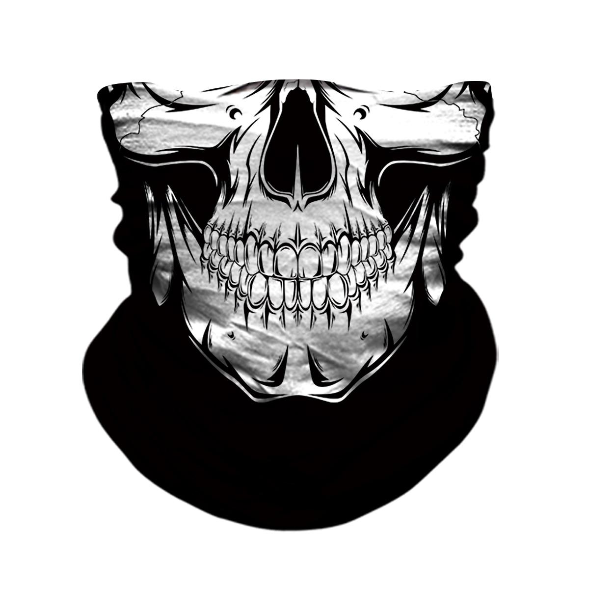 3D calavera esqueleto pasamontañas sin costuras 2