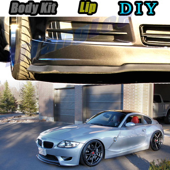 Car Bumper Lip Front Spoiler Skirt Deflector For BMW Z4 Z4M E85 E86 E89 G29 Tune Car Modified Body Kit VIP Hella Flush Lips image