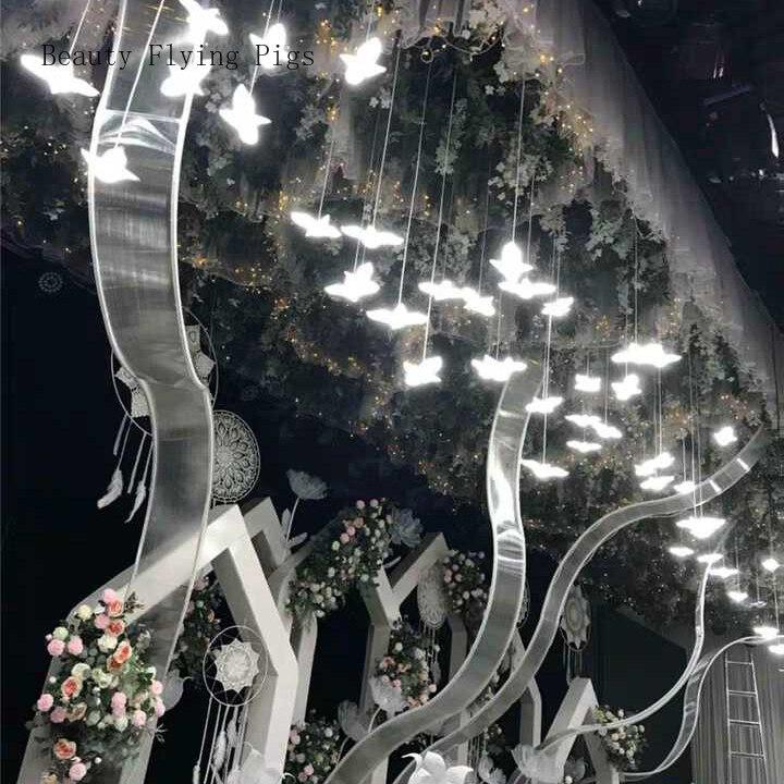 Свадебный реквизит, закрученный в спираль, сменный солнцезащитный щит, свободная кривая, волнистый фон, креативный, сделай сам, свадебный ба...