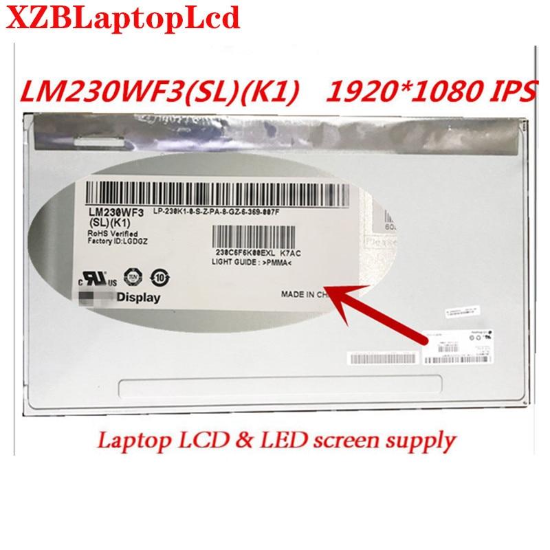 New 23 inch lcd screen panel IPS screen LM230WF3-SLK1 LM230WF3(SL)(K1) LM230WF3 SLP1 SLL1 LM230WF3 SLP7
