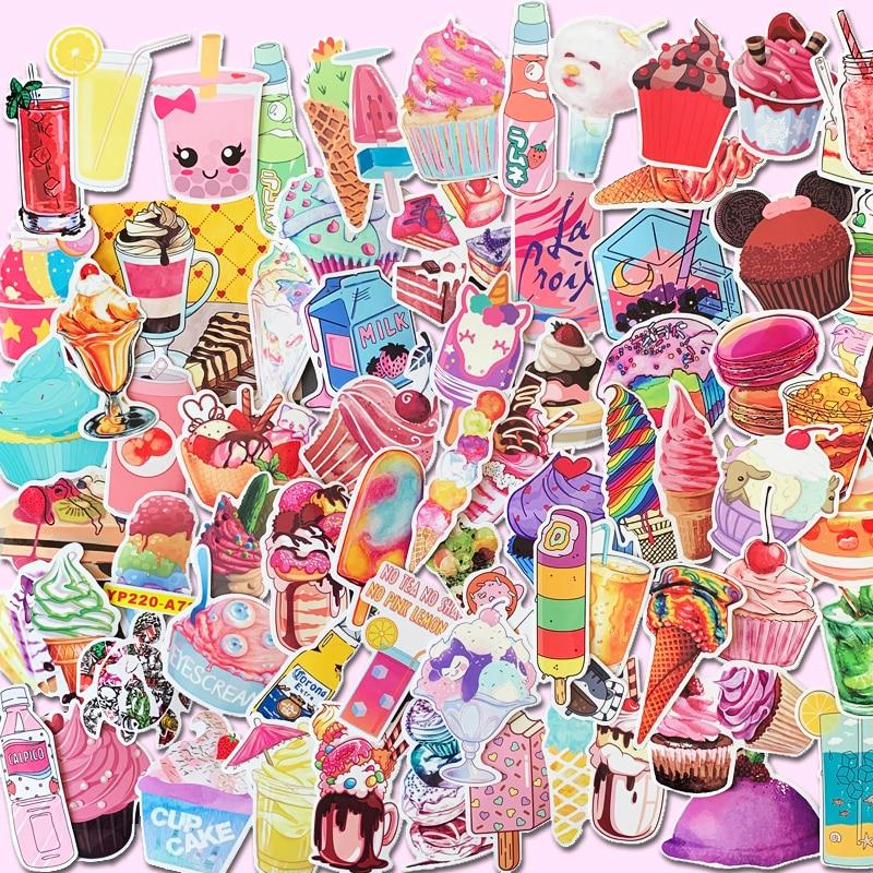 70pcs Vsco Stickers Cute Pink Girl Series DIY Laptop Skateboard Luggage Car Modeling Bicycle Graffiti Guitar Sticker
