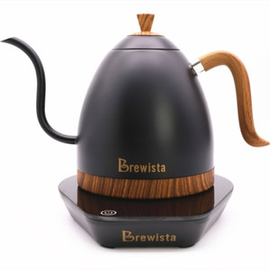 Image 1 - 1 pc Brewista Artisan constant temperature 600ml gooseneck variale temperature control kettle coffee pot
