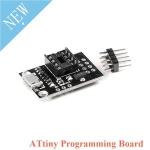 Модуль платы программатора ATTINY для ATtiny13A/ATtiny2 5/ATtiny45/ATtiny 85,  редактор программирования Micro Usb DIP-8
