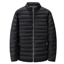 Winter men parkas jackets thick Standing collar 2XL 9XL warm plus large size big outwear cotton coat 6XL man loose