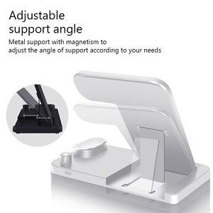 Image 5 - EKSPRAD chargeur sans fil 4 en 1 10W support de charge rapide pour iPhone 11 Pro XR X Xs Max pour Apple Watch 6 5 4 3 Airpods Pro crayon