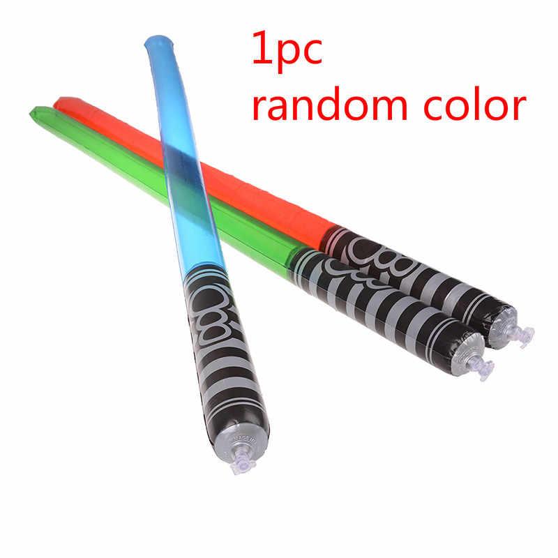 Lightsaber Mainan untuk Anak Saber Oyuncak Bercahaya Jedi Sabre Pedang Laser Light Up LED Berkedip Lightstick Glow In The Dark