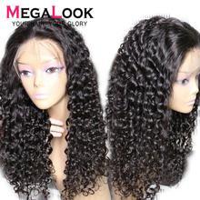 Su dalgası peruk frontal peruk 13x4 ön koparıp dantel ön İnsan saç peruk 28 30 inç Remy peruk kadınlar için brezilyalı su dalgası peruk