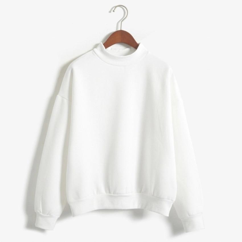 Wholesale M XXL Cute Women Hoodies Pullover 9 colors 2019 Autumn Coat Winter Loose Fleece Thick