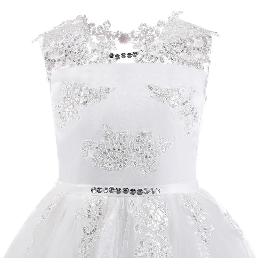 Europe And America Fashion New Style Sleeveless And to Long Skirts Middle And Large GIRL'S Gown Flower Boys/Flower Girls Wedding