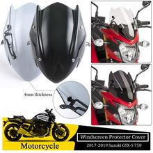 Motorcycle ABS Windshield Windscreen w/ Mounting Bracket For 2017 2018 2019 Suzuki GSXS 750 GSXS750 Wind Shield Flyscreen abs motorcycle windscreen windshield cover for 2016 2017 2018 bmw g310r g 310r 310 r wind shield deflector with mounting bracket