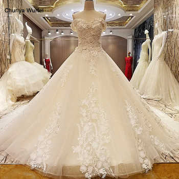 LS95678 champagne wedding dress luxury beaded corset back sweetheart A line appliques bridal dress wedding real photos hot sell - DISCOUNT ITEM  49% OFF All Category