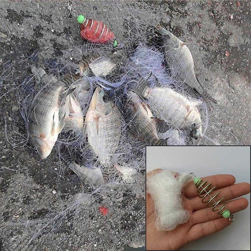 المحمولة شبكة السمك فخ السرب رمي التصيد شبكة الصيد معالجة اكسسوارات جديد شيك
