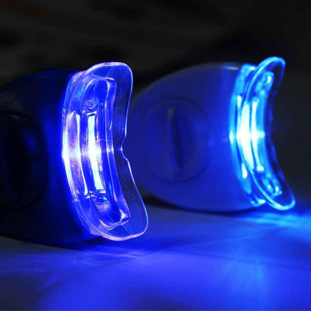 Hot New Đèn LED Màu Xanh Dương Làm Trắng Răng Tăng Tốc Tia UV Nha Khoa Đèn Laser Ánh Sáng Công Cụ Răng Đựng Mỹ Phẩm Laser Mới Phụ Nữ Làm Đẹp sức Khỏe