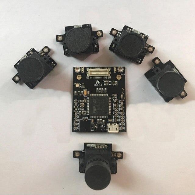 OpenMV4 3 Cool World DIY STM32H7 F7 Image Processing MT9V034 Global Shutter Module Chasing