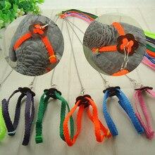 Питомец попугай птица регулируемый поводок для собак Тяговый ремень тренировочный канат Горячий